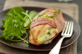 Délicieux poulet grillé au Bresse Bleu