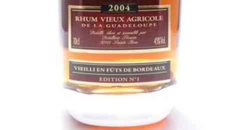 Rhum vieux Domaine de Séverin - Fûts de Bordeaux 2004