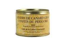 Gésiers de canard gras confits