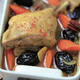 Tajine de Cuisse de Canard, Pruneaux, Piment d'Espelette et Noix de pécans