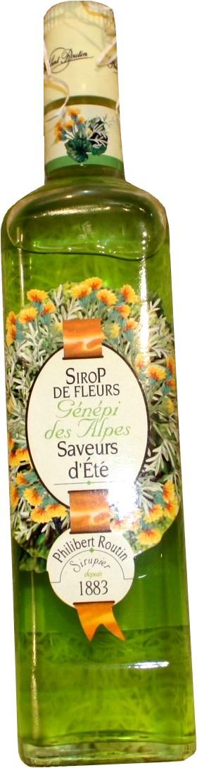 Sirop De Fleurs De Genepi Des Alpes