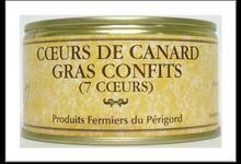 Coeurs de canard gras confits - Bernard Vernet