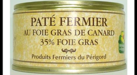 Pâté fermier au foie de canard 200g - Bernard Vernet
