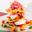 Petites lasagnes croustillantes au Jambon de Parme, champignons et petits légumes