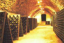 Cave voutée en pierre meulière