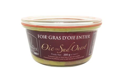 Foie gras entier de L'anser