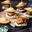 Mini Madeleine Burgers
