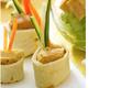 Les Mini‐Wraps De Foie Gras Aux Legumes