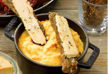 La Puree De Lentilles Corail Et Ses Mouillettes De Foie Gras De Canard Du Sud‐Ouest
