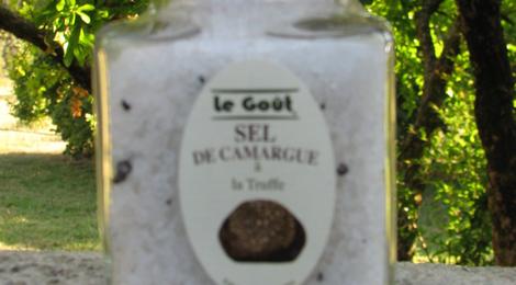 Sel gros de Camargue à la Truffe Noire