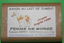 SAVON huile d'argan argile rose