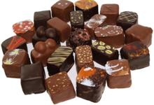 assortiment de bonbons chocolat