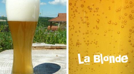 La bière du plateau, la blonde