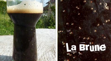La bière du plateau, la brune