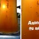 La bière du plateau, l'ambrée au miel