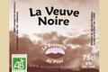Bière BIO brune - La Veuve Noire