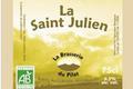 Bière blanche BIO - La Saint Julien