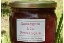 Cassolette d'escargots à la Provençale