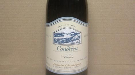 Condrieu Coteau de Vernon 2012