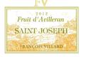 Saint Joseph blanc, Fruit d'Avilleran 2012