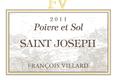 Saint Joseph rouge, Poivre et Sol 2011