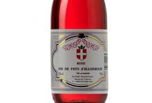 Vin de Pays d'Allobrogie Rose Guy et Pascal Perceval