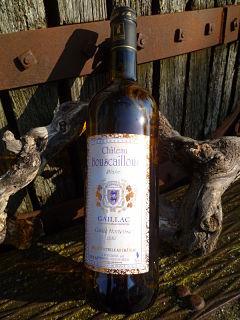 """AOC Gaillac Blanc sec 2011 """" Cuvée Horthense """" - Château Bouscaillous"""