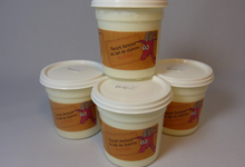 yaourts de chèvre nature