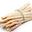 Asperges Violettes cal 10/14 botte de 500gr / asperges BIO