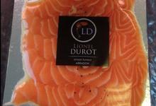 """saumon gravelax """"Délices de sureau"""""""