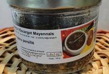2 douzaines d'escargots hélix aspersa a la sauce persillade moutarde