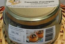 Cassolette d'escargots à la béchamel