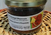 2 douzaines d'escargot helix aspersa a la Catalane et Piment d'espelette