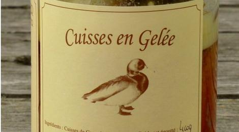 Cuisses de Canard en Gelée