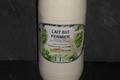 bouteille de lait entier bio pasteurisé
