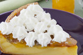 Fiadone revisté, crème citron, chantilly de brocciu