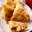 Samoussa jambon chaource et courgettes