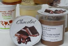 Flan fermier crémeux au chocolat du GAEC Muhlematter