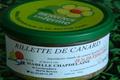 Rillettes de canard 30% foie gras