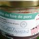 pâté de foie de porc de Bayeux
