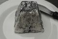 Pyramide cendrée, fromage frais de chèvre