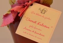 """""""Secret d'alcôve"""", gelée de fleurs d'acacia à la framboise"""