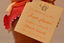 """""""Avec plaisir"""", confiture d'abricot à la lavande"""