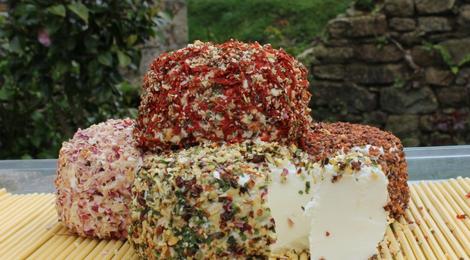 Crottin de brebis bruschetta