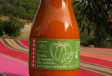 """Le coulis de tomates BIO """"variétés anciennes"""" au basilic"""