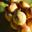 Oignon jaune en grappe