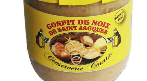 Verrine confit de noix de St Jacques 360 grammes