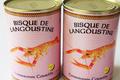 Lot de 2 bisques de langoustine