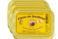 lot de 3 boites de filets de sardine au citron