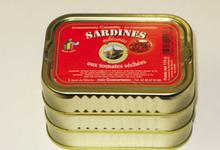 Sardines millésimées aux tomates séchées